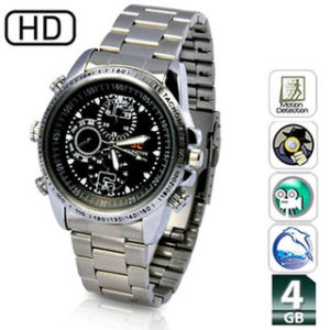 Spy Camera Watch HD 32GB Memory