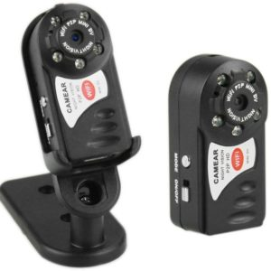 Mini Wifi IP Spy Video Camera HD With Night Vision Q7