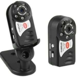 Mini Wifi IP Spy Video Camera HD With Night Vision Q7