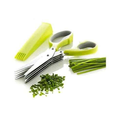 Vegetable Cutter 5 Blade Scissor