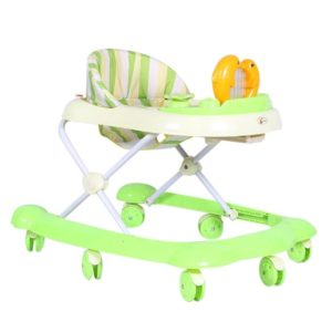 Dolphin Baby Walker - Green