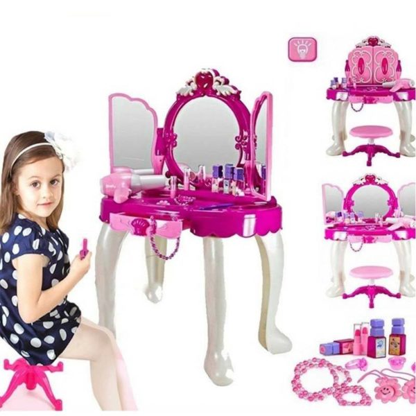 Baby Dresser with Cosmetics & Ornaments