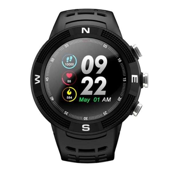 NO.1 F18 GPS Sports Smartwatch - BLACK