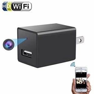 WIFI AC Plug Spy Camera USB Wall Charger Hidden Spy Wifi Camera