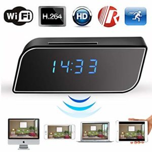 WIFI/ IP HD Table Clock Camera