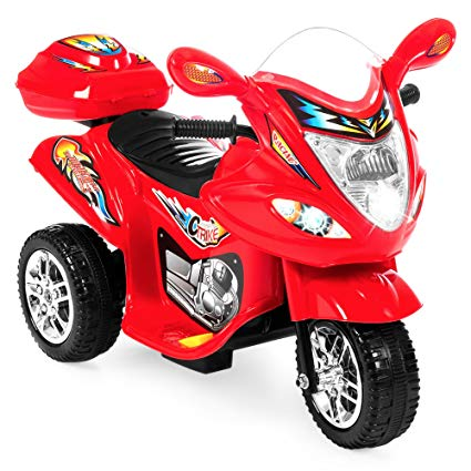 plastic BATTERY OPERATED FUN Bike