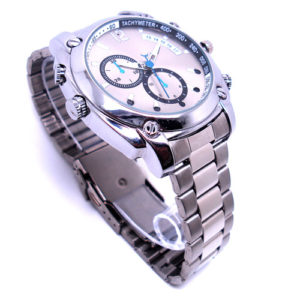 Waterproof Spy Watch 1080P Night Vision