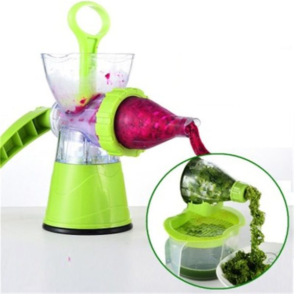 2-In-1 Non-Electric Blender and Juicer