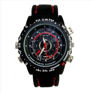 32GB Wrist Watch With Mini Hidden Camera