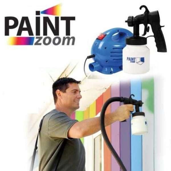 Paint Zoom Professional Electric Paint Sprayer Paint Gun