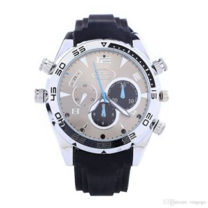 1080p Waterproof Night Vision Spy Watch