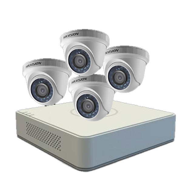 Hikvision 4 Camera Package
