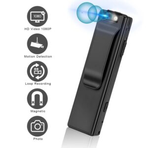 Magnetic Body Camera Motion Detection Snapshot Loop Recording Camcorder